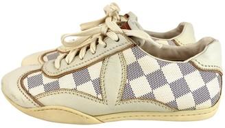 Louis Vuitton Ecru Cloth Trainers