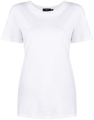 Theory Short-Sleeve Organic Cotton T-Shirt