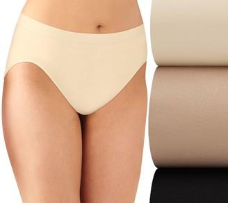 Bali Comfort Revolution Hi-Cut Panties - 3 Pack