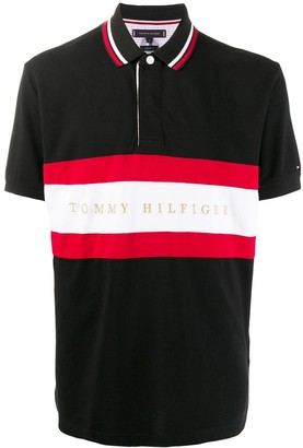 Tommy Hilfiger Short Sleeve Striped Polo Shirt
