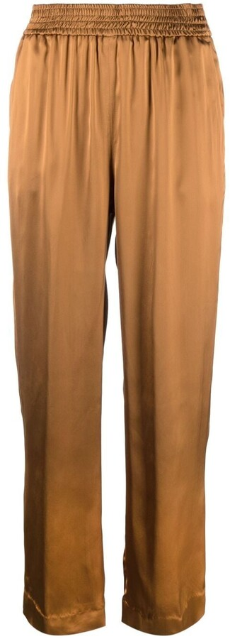 Pt01 Shirred-Waist Trousers