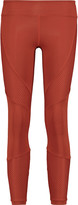 Koral Mesh-panelled stretch-jersey leggings