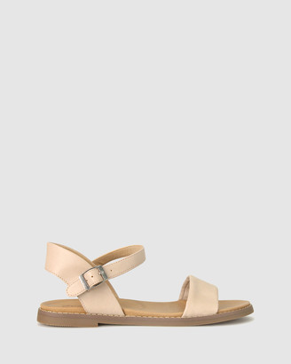 Zeroe - Women's Neutrals Flat Sandals - Wide Fit Atlas Footbed Sandals - Size One Size, 5 at The Iconic