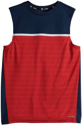 Tek Gear Boys 4-20 DryTek Colorblock Muscle Tee in Regular & Husky