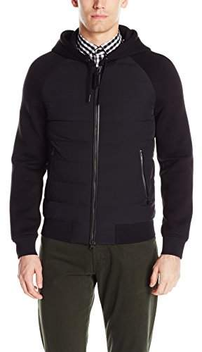 Mackage Men's Filbert Mix Media Light Weight Down Jacket