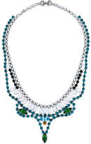 Tom Binns Crystal and Bead Collar Necklace