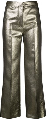 ALEXACHUNG High-Waisted Trousers
