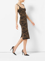 Michael Kors Floral Stretch-Viscose Dress