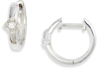 Anzie Cleo Huggie Hoop Earrings
