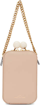 Marc Jacobs Beige The Vanity Bag