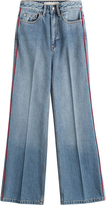 Marc by Marc Jacobs Cropped Wide Leg Jeans