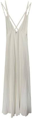 Sandro Spring Summer 2018 White Cotton - elasthane Dress for Women
