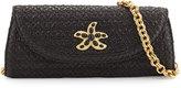 Eric Javits Paradise Squishee® Woven Clutch Bag, Black