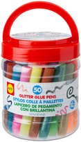 Alex 50 Pcs Glitter Glue Pens