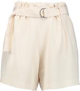 Brunello Cucinelli Crepe de chine shorts