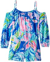 Lilly Pulitzer Candice Romper Girl's Jumpsuit & Rompers One Piece