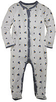 Ralph Lauren Baby Boys Newborn Bear Printed Footed Coverall