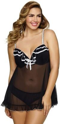 Jezebel Women's Plus Size Tiffany Babydoll