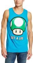 Nintendo Men's Get A Life Tank T-Shirt