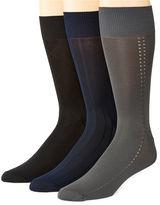 STAFFORD Stafford 3-pk. Nylon Microfiber Crew Socks-Big & Tall