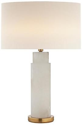AERIN Yvette Table Lamp - Alabaster/Brass