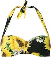 Dolce & Gabbana sunflower print bikini - women - Polyamide/Spandex/Elastane - 1
