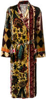 Pierre Louis Mascia Pierre-Louis Mascia multi print long coat