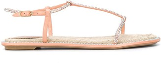 Rene Caovilla Diana Strass Espadrille 10mm sandals