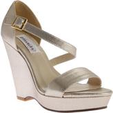Dyeables Women's Karen Strappy Wedge Sandal