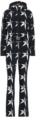 Perfect Moment Star printed ski suit