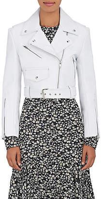 Calvin Klein Women's Leather Moto Jacket