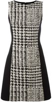 Fausto Puglisi checked fitted dress - women - Silk/Cotton/Linen/Flax/Virgin Wool - 40