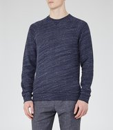 Reiss Drava Loopback Cotton Sweatshirt