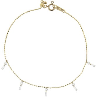 Kataoka Diamond Tassel Bracelet - Beige Gold