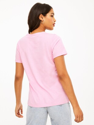 New Look Girlfriend T-Shirts (3 Pack) - Pink/White/Black