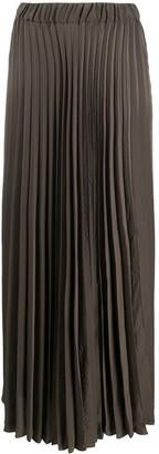 P.A.R.O.S.H. Pleated Long Skirt