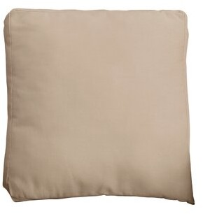 Sure Fit Duck Solid Throw Pillow Color: Linen