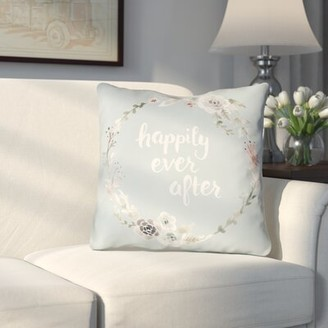 """Lyle Indoor/Outdoor Throw Pillow Le Prise Size: 20"""" H x 20"""" W x 4"""" D, Color: Green"""