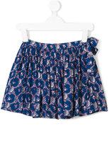 Simple paisley print skirt
