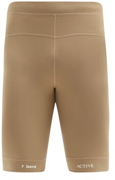 7 DAYS ACTIVE Technical Base Layer Running Shorts - Brown