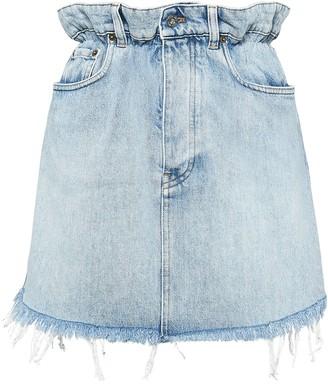 Miu Miu Denim Mini-Skirt