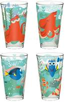 Zak Designs Disney / Pixar Finding Dory 4-pc. 16-oz. Glass Tumbler Set by