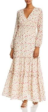 Lost + Wander Love In Bloom Floral Print Maxi Dress