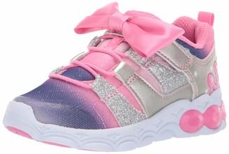 Stride Rite Girl's Katie Light-Up Mesh Athletic Sneaker