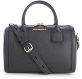 Karl Lagerfeld Women's K/Klassik Bowling Bag Black