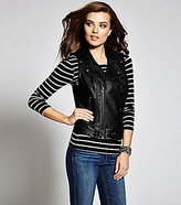 GUESS Fiona Faux-Leather Vest
