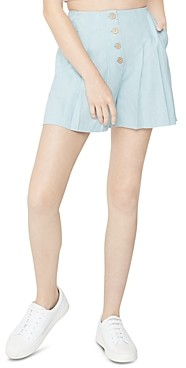 BCBGeneration Button Front Woven Shorts