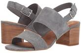 Toms Poppy (Shade Suede/Linen) Women's Sandals