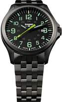 Traser P67 Officer Pro Lime Numerals PVD Stainless Steel Men's Watch 107869