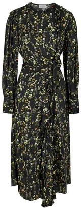 Preen by Thornton Bregazzi Nicola floral-print silk-blend midi dress